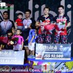 Pertahankan Gelar Indonesia Open, Kevin/Marcus Kembali Menang