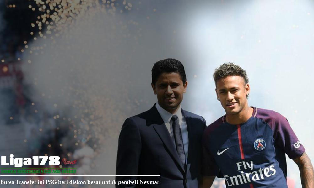 Neymar, Barcelona, PSG, Bursa Transfer, Liga178 News