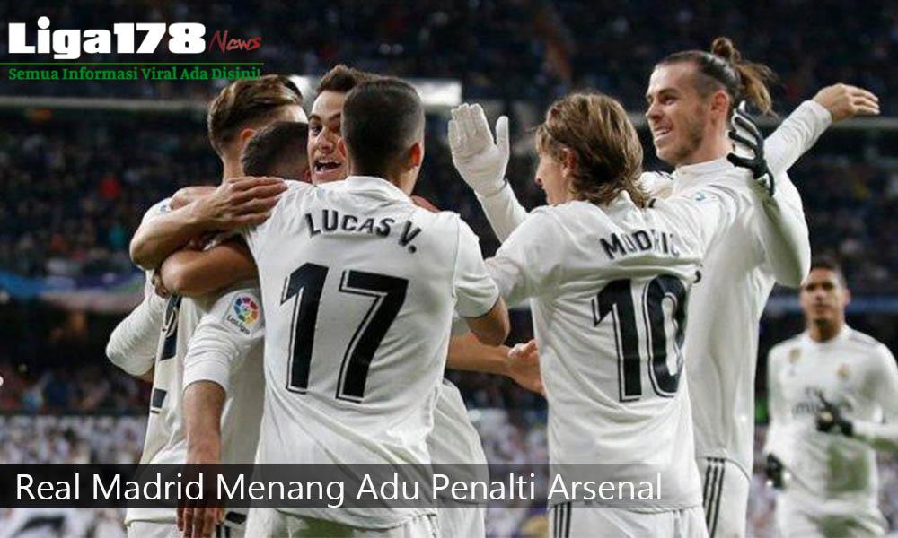 Real Madrid, Arsenal, penalti, Liga178 News
