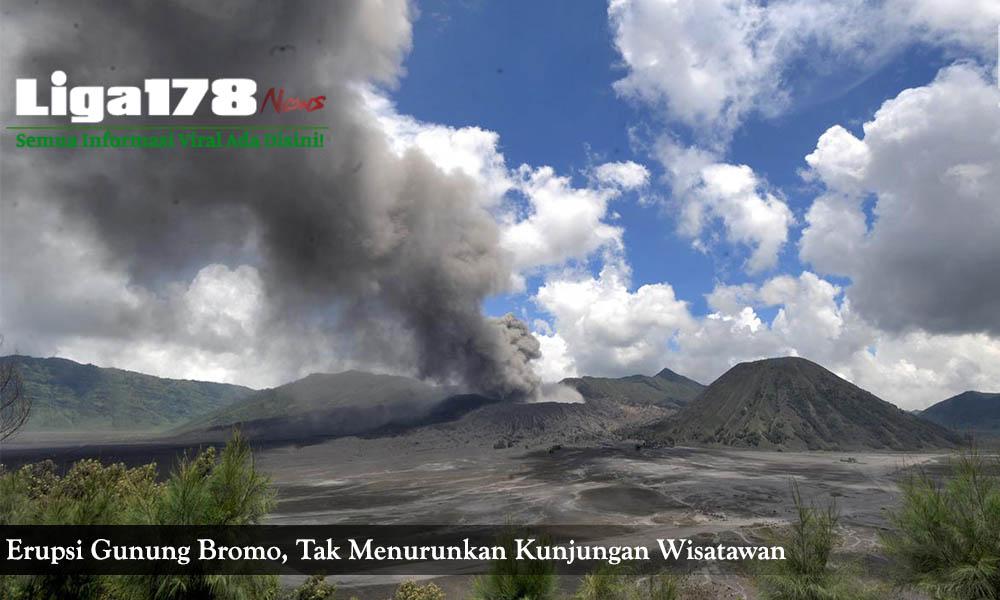 gunung bromo, pvmbg, erupsi, pasca erupsi, liga178 news