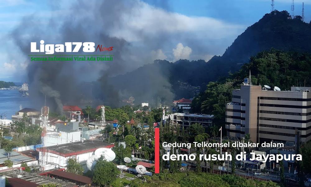 Jayapura, Kantor Telkom, blokir, Liga178 News