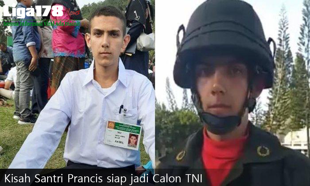 Kisah Santri Prancis siap jadi Calon TNI