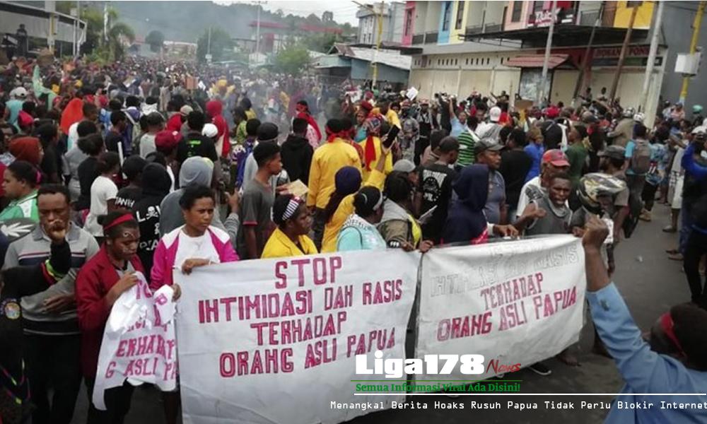 Papua, Kerusuhan, Internet Blokir, Liga178 News