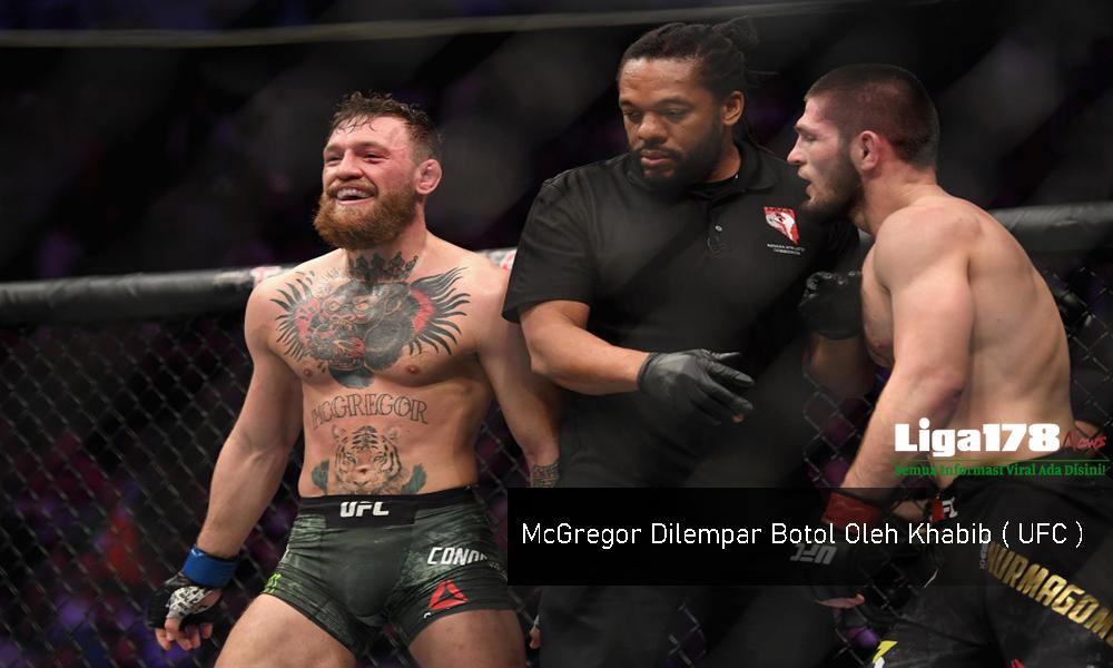 McGregor Dilempar Botol Oleh Khabib ( UFC ) | Website ...