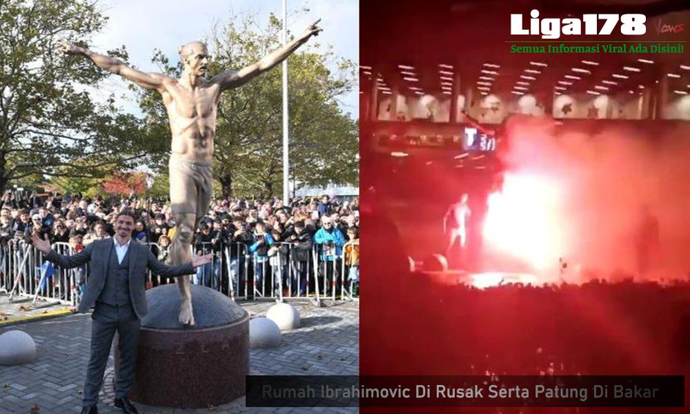 Ibrahimovic, Juventus, La Galaxy, saham Hammarby, Bakar Rumah, Liga178 News