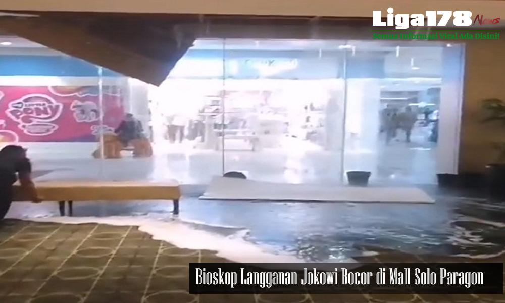 banjir, Joko Widodo, Solo Paragon Mall, Solo, Liga178 News