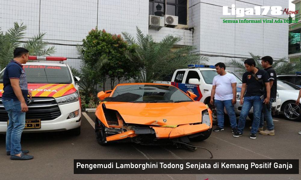 Ganja, Lamborghini, Polda Metro Jaya, Lamborghini Koboi, Koboi Mabok, Liga178 News