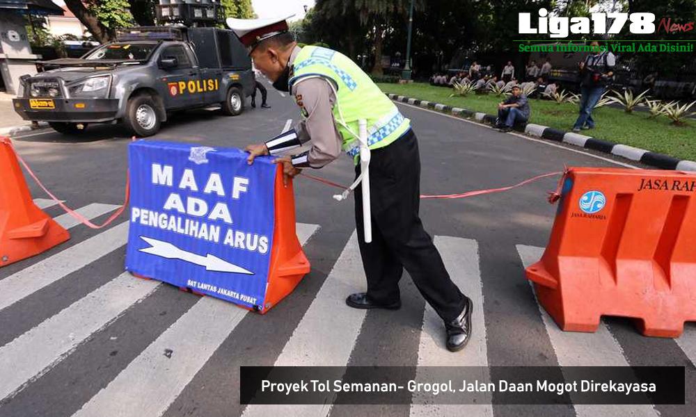 Daan Mogot, Rekayasa jalan, TransJakarta, Jembatan Baru, Tol Semanan Grogol, Jakarta, Liga178 News