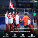 Tiga Perwaakilan Indonesia Final SEA Games 2019 Bulutangkis