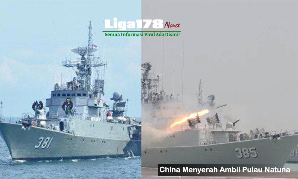 TNI, Natuna, China, Indonesia, Liga178