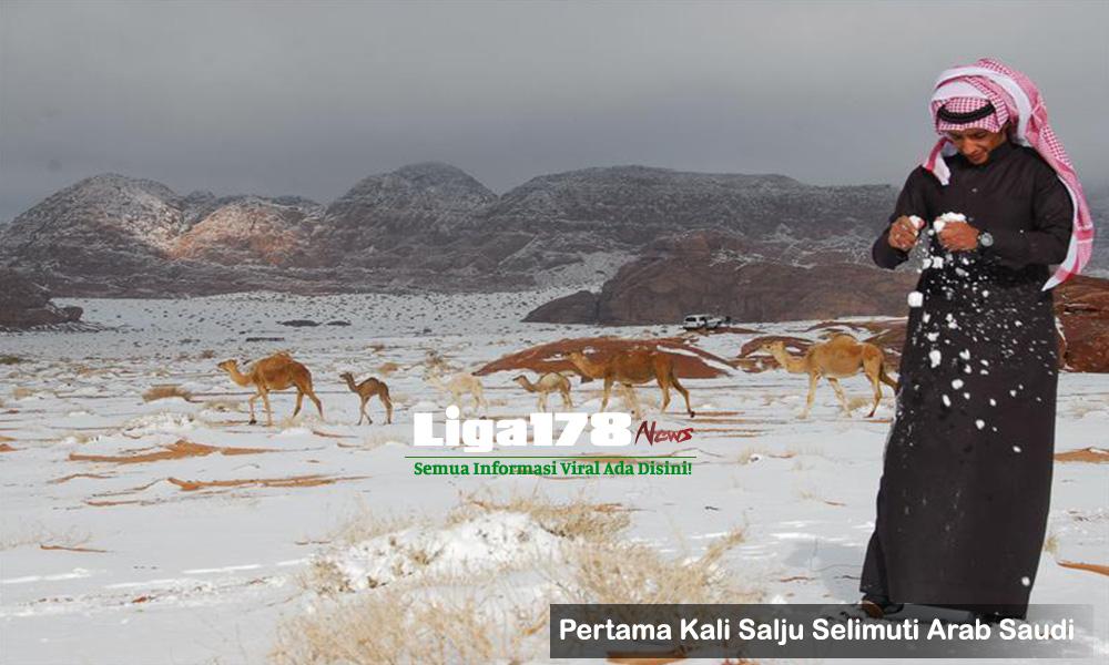 Salju, Arab Saudi, Fenomena Alam, Fenomena Cuaca, Liga178 News