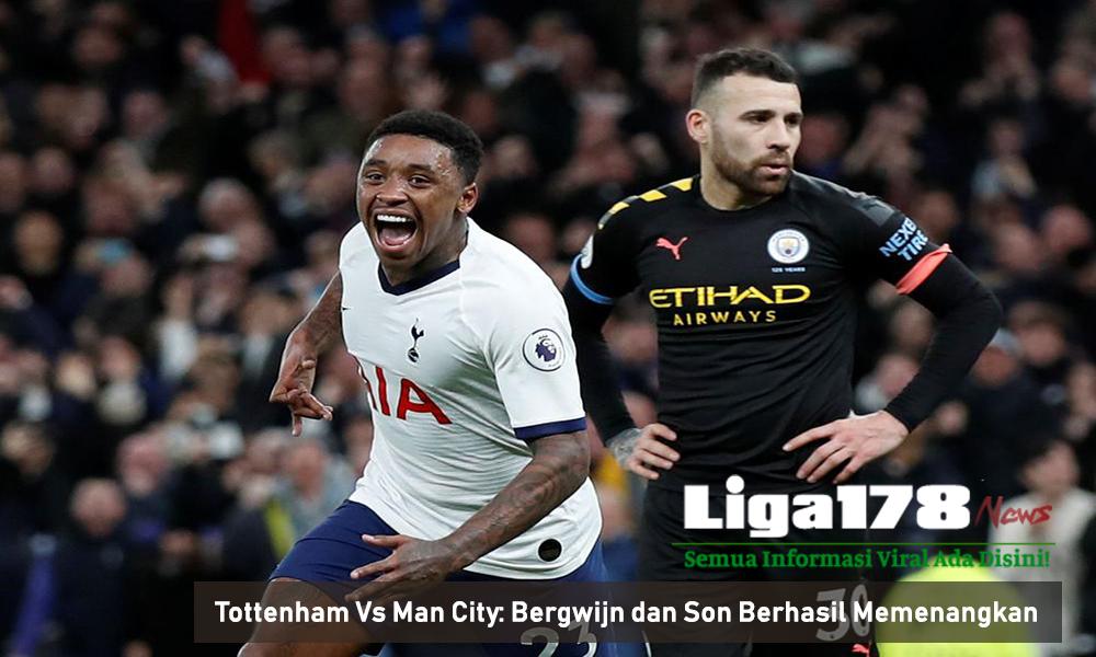 Tottenham Vs Man City: Bergwijn dan Son Berhasil Memenangkan