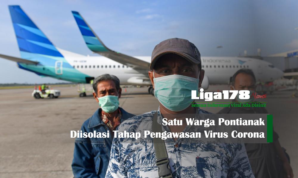 virus corona, Pontianak, pemeriksaan, Liga178 News